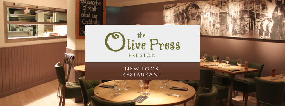Welcome to the New Look Olive Press