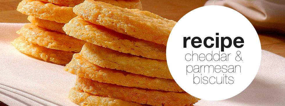 Parmesan & Cheddar Biscuits
