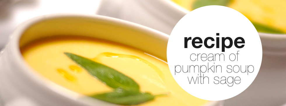 Cream of Pumpkin & Sage Soup